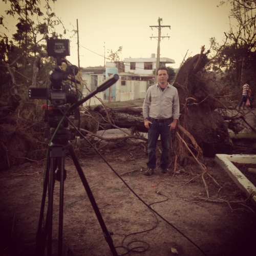 Covering Hurricane Sandy in Santiago de Cuba