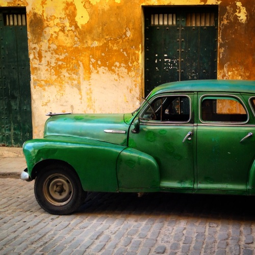 Old Chevy in Old Havana.