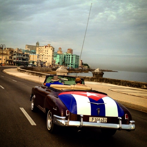 Flying the colors in Havana