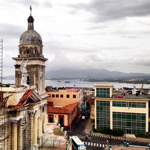 Santiago de Cuba. Still recovering from Hurricane Sandy, still enchanting.